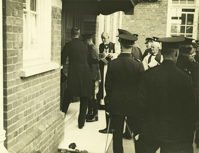 29.6.1923 - H.R.H. The Prince of Wales at opening of the War Memorial Hospital