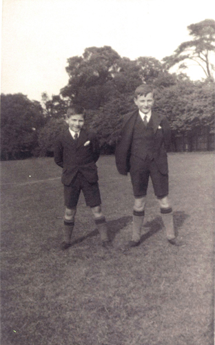 Ernest George Aust (left) and Charles Henry Aust