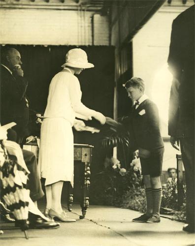 Far left Commissioner William Horwood 1923