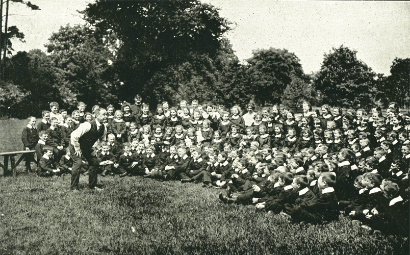 George Robey at Police Orphanage - Twickenham