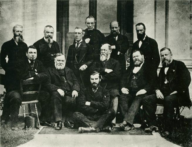 1876 - A Metropolitan and City Police fete