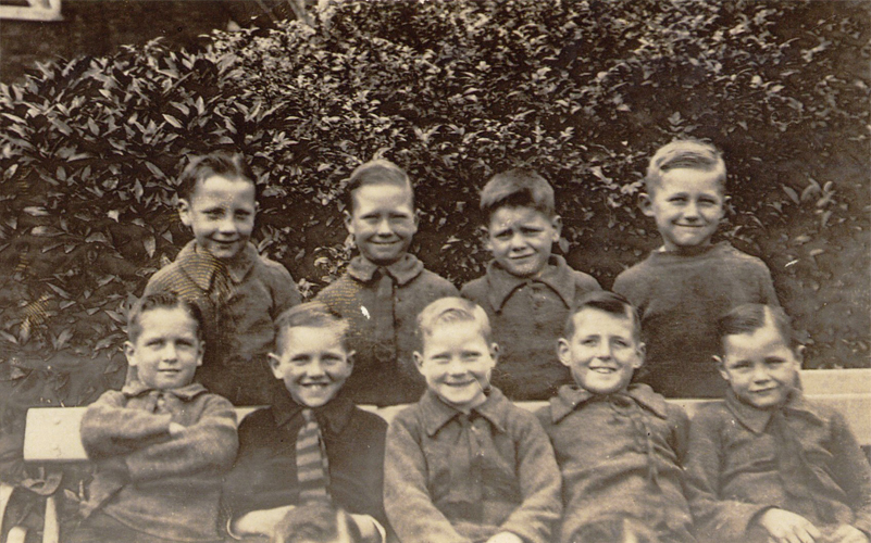 Young lads of the Metropolitan and City Police Orphanage