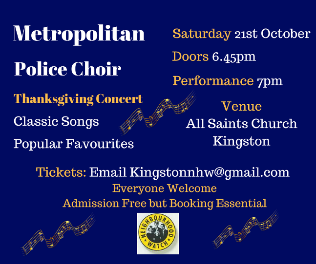 Emergency Services Thanksgiving Concert Police